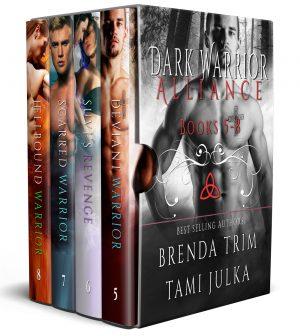 Dark Warrior Alliance Books 5 – 8 – Full Hearts Romance